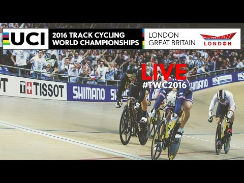 Full Replay |  Day 3 Track Cycling World Championships | London, England