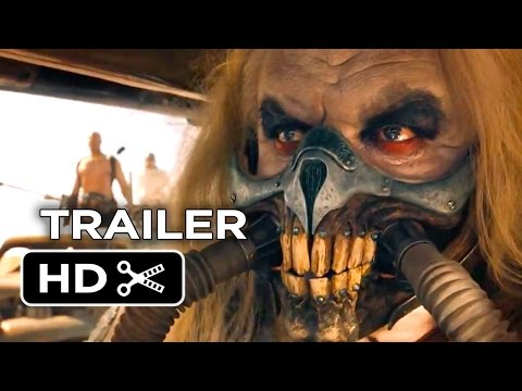 Mad Max: Fury Road Official Comic-Con Trailer (2015) - Tom Hardy Post-Apocalypse Movie HD