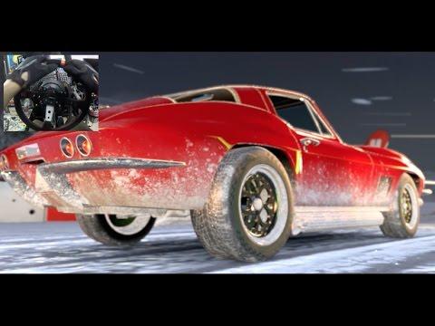 Forza Horizon 3 GoPro 100% Everything  Fate Of The Furious - Lettys Corvette vs SNOW #forzathon
