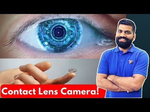Contact Lens Camera??? Future Wearable Tech!!!