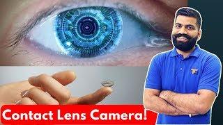 contact lens camera future wearable tech