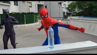 The Bottle Cap Challenge Of Super-Heroes