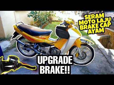 Download #744 UPGRADE BRAKE SI MAEL   DAH LAJU BREAK TAK MAKAN SERAMM!!!