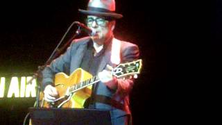 Elvis Costello - Only Flame in Town - Portland, ME  11.18.2013