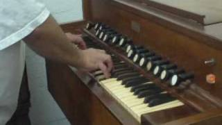 Aoliean Antique Eletric Pump Organ For Sale.MPG