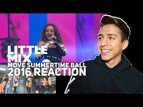Little Mix- Move (Live At The SummerTime Ball 2016)|E2 Reacts