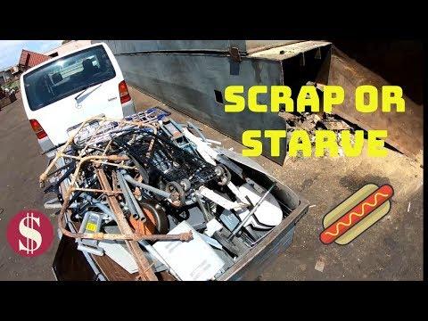 Scrap or Starve, Street Scrapping for CASH - Scrap Steel Scavenge