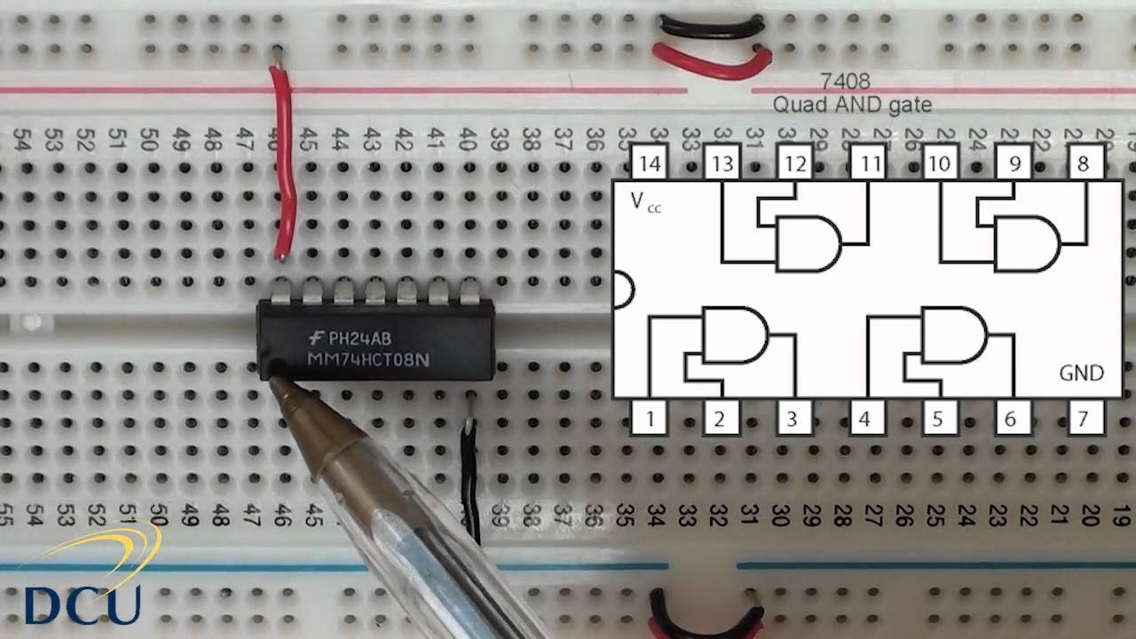 Digital Electronics Logic Gates Integrated Circuits Part 1 Youtube Voltmeter Circuit Diagram Composed Of Icl7116 Basiccircuit