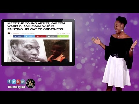 Nigerian Young Artist; Togolese Forced To Dance For President; Ethiopia PM Flies Prisoners; Cameroon