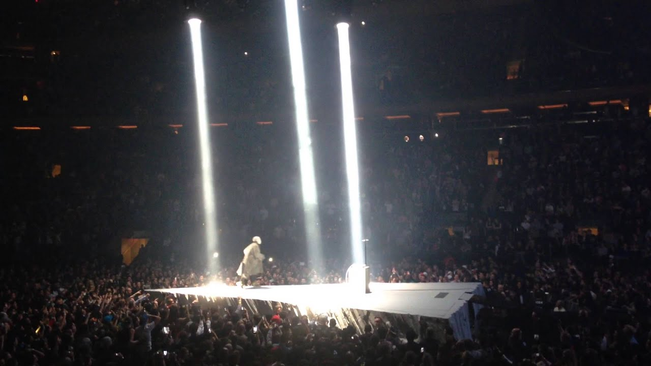 "All of Kanye West's ""rants"" from the 2013 Yeezus tour"