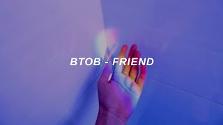 BTOB (비투비) 'Friend' Easy Lyrics