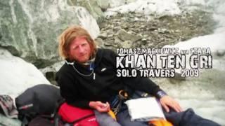 """Tomek """"Czapa"""" Mackiewicz - Khan Tengri solo travers 2009 - Promo"""