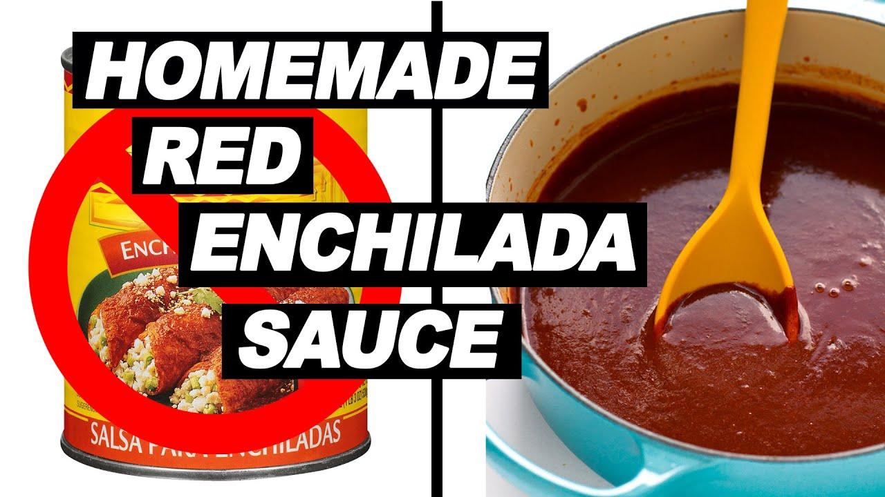 Homemade Red Enchilada Sauce Recipe | No Oil, No Flour | All Natural