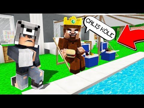FAKİR İLE KRAL VEZİR OYNADIK! 😱 - Minecraft