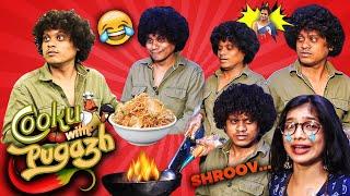 LOL 🤣 : Cooku With Comali Pugazh VS VJ Parvathy - Live Cooking 😋 | Marana Fun Interview | Vijay TV