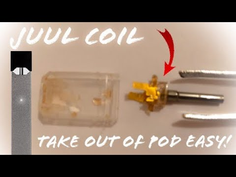 How to take coil out of Juul Pod