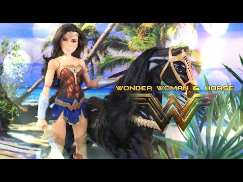 Unbox Daily: Mattel DC Wonder Woman & Horse Combo Pack - Doll Review - 4K