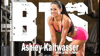 Gregory James BTS Flashback 2014  | Ashley Kaltwasser Fitness Cover Photoshoot