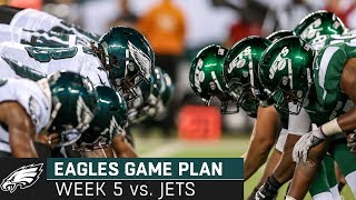 Breaking Down the Jets Matchup: Episode 5 | Eagles Game Plan (Week 5, 2019)