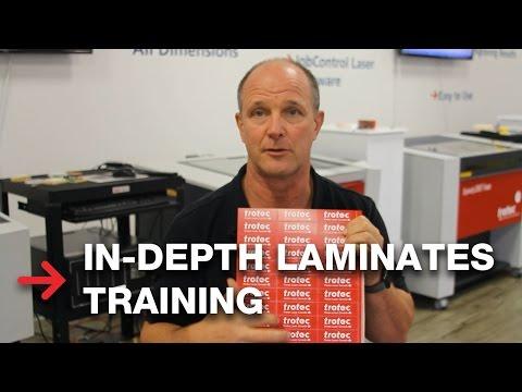 In-Depth Training   TroLase Engraveable Plastics and Laminates