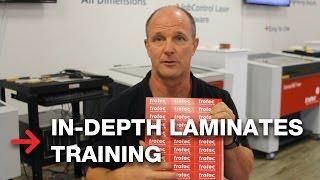 In-Depth Training | TroLase Engraveable Plastics and Laminates