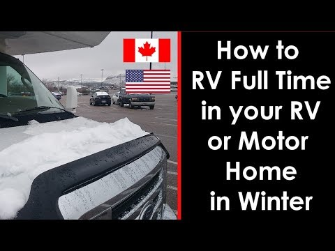 how to use rv full hookup