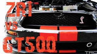 Corvette ZR1 battles 750whp Whipple Shelby GT500