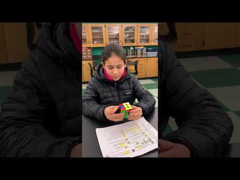 Highcrest Middle School Solves the Rubik's Cube