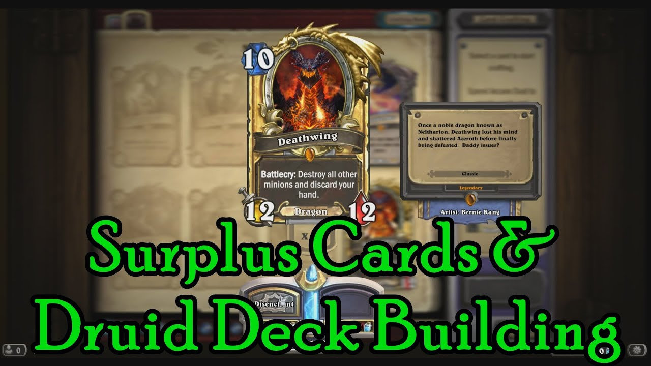 Hearthstone Druid Cards To Craft