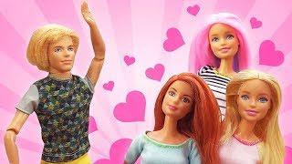 Барби и Кейт поссорились. Школа гимнастики: видео для девочек.