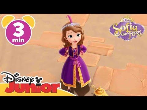 Sofia the First | Kazeem the Genie | Disney Junior UK