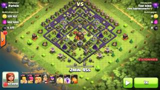 Let's play butin #2 | Clash of Clans | Il a vraiment un bon butin ? ;)