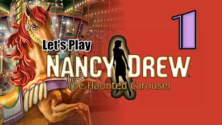 Nancy Drew 8: The Haunted Carousel [01] w/YourGibs - BURNED DOWN HOTEL - OPENING - Part 1