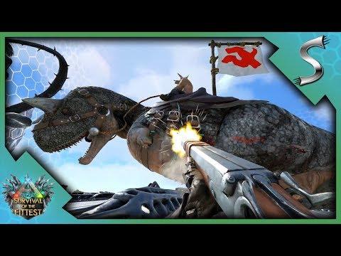 1V1 ON THE CENTRE PLATFORM! - Ark: Survival of the Fittest [SOTF Gameplay]