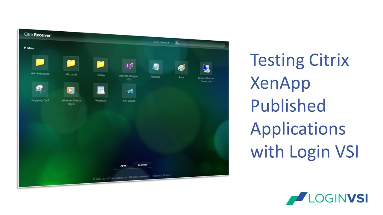 Published Applications Configuration and Testing - Login VSI
