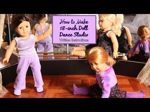 American Girl Dance And Ballet Studio For 18-inch Dolls - HTM