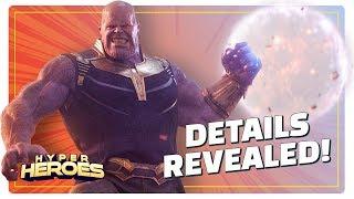 Avengers: Infinity War Drops Thanos Details - Hyper Heroes