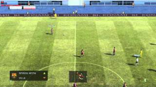 Pro Evolution Soccer 2011 Demo Gameplay