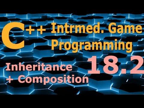Intermediate C++ Game Programming DirectX [Inheritance + Composition] Tutorial 18.2
