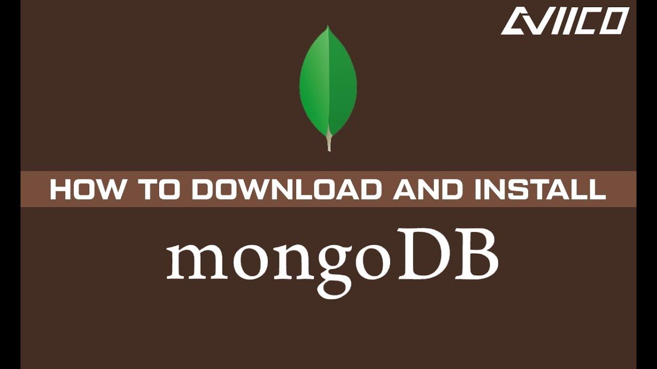 MONGODB 3.6 TÉLÉCHARGER