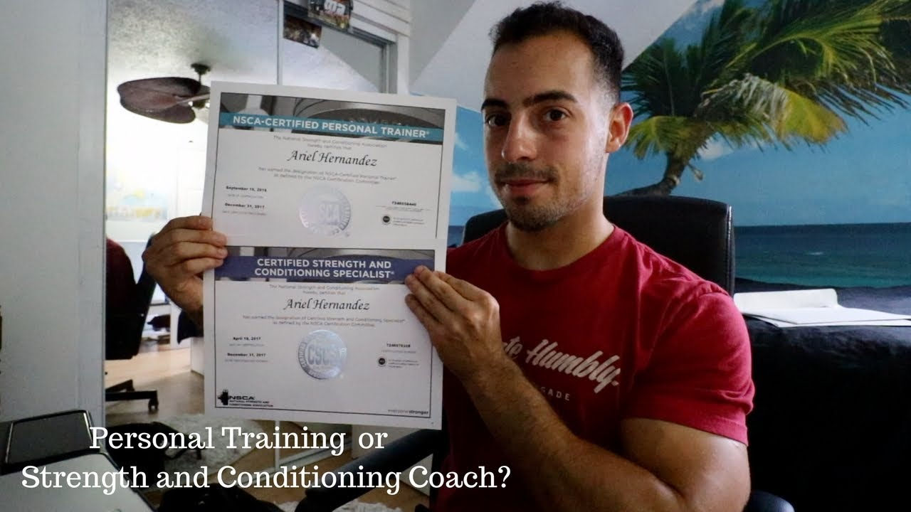 Nsca Strength And Conditioning Personal Trainer Certification