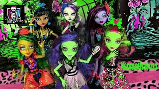 MONSTER HIGH GLOOM  & BLOOM DOLL COLLECTION REVIEW VIDEO!!!