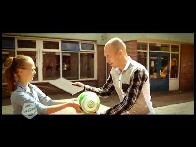 'Acteur' Robben voor commercial terug in Bedum, deel 2