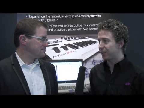 Elevate your compositions with Sibelius 7 and Avid Scorch for iPad at Musikmesse 2012