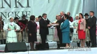 Zaproszenie na Dożynki Prezydenckie Spała 2014