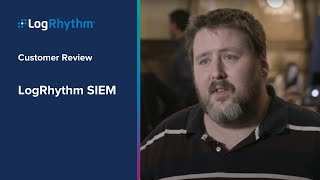 LogRhythm SIEM Review: Gene C. (Security Engineer)