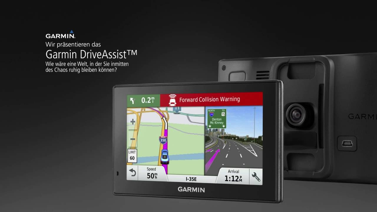 garmin driveassist gps navi mit integrierter dash cam. Black Bedroom Furniture Sets. Home Design Ideas