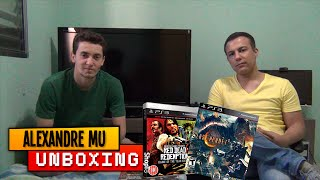 UNBOXING: LOST PLANET 2 E RED DEAD REDEMPTION GOTY EDITION - PS3
