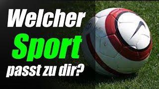 ✔ Welcher Sport passt zu dir? | Persönlichkeitstest
