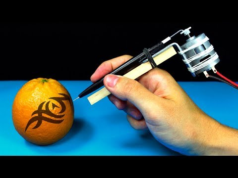 Comment faire une machine de tatouage | Machine à tatouer rotative